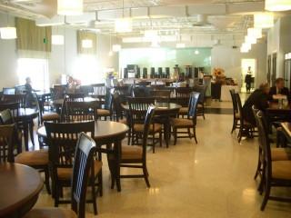 UNIVERSAL社の食堂