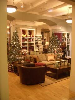 なんとか撮れた店内写真(ちょうどクリスマスのデコレーションがされていました)