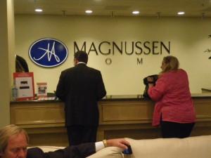 マグヌッセン社のフロント